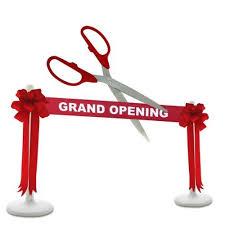 Dallas Ceremonial Inauguration Large Scissors Rentals