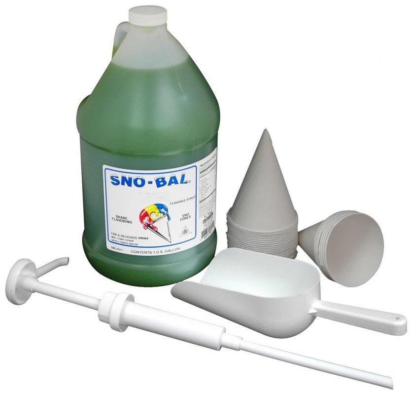 Snow Cone Machine Supplies